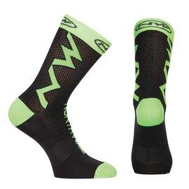 Northwave Northwave, Extreme Tech , Socks, Black/Green Fluo, M