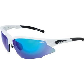 Lazer Lazer Argon Race (ARR) Sunglasses: Gloss White Frames with Three Interchangeable Lenses