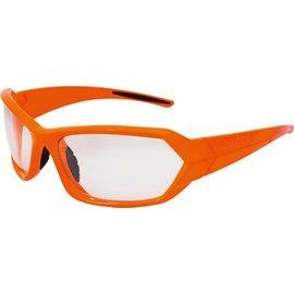 Lazer Lazer Electron 1 (EC1) Sunglasses: Gloss Flash Orange Frames with Crystal Photochromic Lens