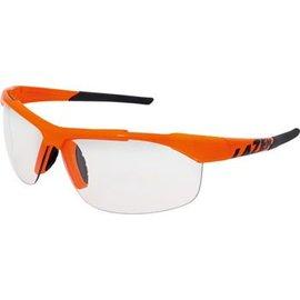 Lazer Lazer Argon 2 (AR2) Sunglasses: Gloss Flash Orange Frames with Crystal Photochromic Lens