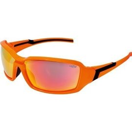Lazer Xenon 1 X1 Gloss Flash Orange frame grey + rainbow lens