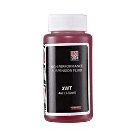 RockShox RockShox Suspension Oil, 3wt 120ml Bottle (Consumer Size) - Rear Shock Damper/Charger Damper