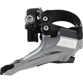 Shimano FRONT DERAILLEUR, FD-M618-L, DEORE, FOR 2X10, LOW CLAMP, TO
