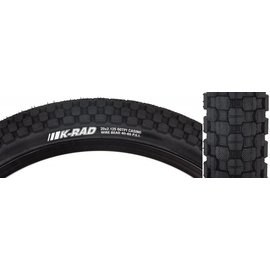 "Kenda Kenda K-Rad K905 Tire 20"" x 2 .125 Steel Bead Black"