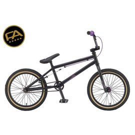 Free Agent Bicycles Bmx Volo Matte Black 18""