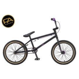 "Free Agent Bicycles Bmx Volo Matte Black 18"""