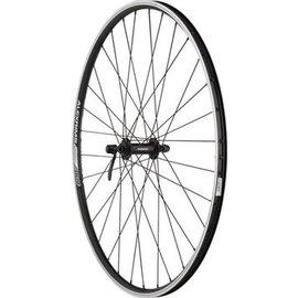 Quality Wheels Quality Wheels Front Wheel Value Series 700c 100mm QR 32h Shimano / Alex DC19 / DT Factory All Black