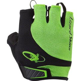 Lizard Skins Lizard Skins Aramus Elite Gloves: Jet Black/Lime MD