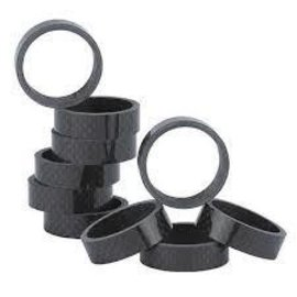 "XLC XLC, Headset Spacers 1-1/8"" 10mm 10/Bag Carbon"