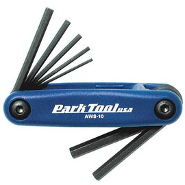 Park Park Tool AWS-10 Metric Folding Hex Wrench Set