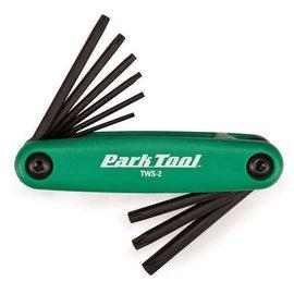 Park Park Tool TWS-2 Folding Torx Wrench Set