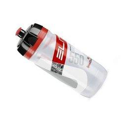 Elite SRL Elite Corsa 550ml Bottle Clear/Red