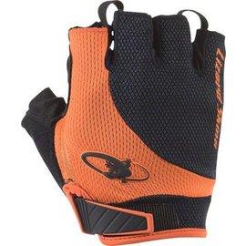 Lizard Skins Lizard Skins Aramus Elite Gloves: Jet Black/Tangerine LG