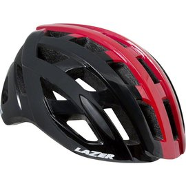 Lazer Lazer Tonic Helmet: Black/Red SM