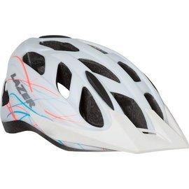 Lazer Lazer Pearl Helmet: White Swirls MD