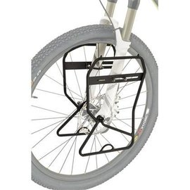 Axiom Axiom Journey Suspension and Disc Lowrider Front Rack: Black
