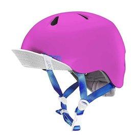 Bern Bern, Nina, Helmet, Satin Hot Pink, SM