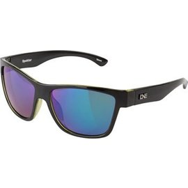 Optic Nerve ONE Spektor Polarized Sunglasses: Black with Green