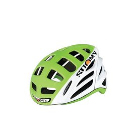 Suomy Gun Wind Helmet Hi Viz White/LIme M ( 54-58 )