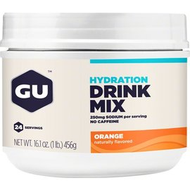 GU GU Hydration Drink Mix: Orange, 24 Serving Canister