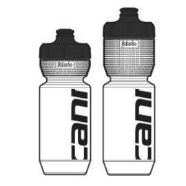 Cannondale CANNONDALE Logo Bottle CLB 600ml 600ml Clear w Black