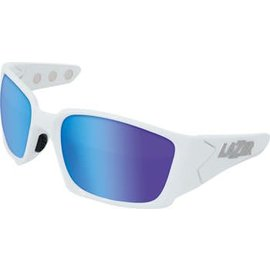 Lazer Lazer Magneto M2 Sunglasses: Matte White Frames with Three Interchangeable Lenses