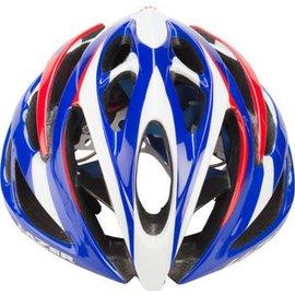 Lazer Lazer O2 Helmet: Red White and Blue MD/LG Unisize