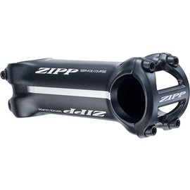 ZIPP Stem Zipp Stem Service Course  6A 100mm 1.125 Bead Blast Black, 6061, Universal Faceplate