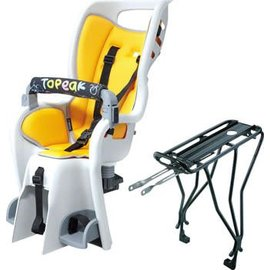 Topeak Topeak BabySeat II with Disc Compatible Rack: Yellow