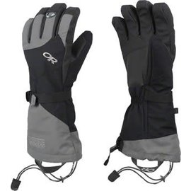 Outdoor Research Outdoor Research Meteor Gloves: Black/Charcoal