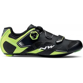 Northwave Northwave, Sonic 2 Plus, Road shoes, Black/Yellow Fluo