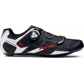 Northwave Northwave Sonic 2 Plus Wide Road shoes Black/White/Red