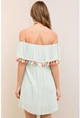 Take Your Time Tassel Dress