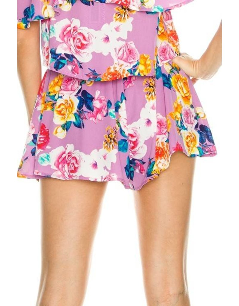 Floral Frenzy Shorts