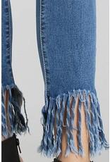 Alyssa Frayed Jeans