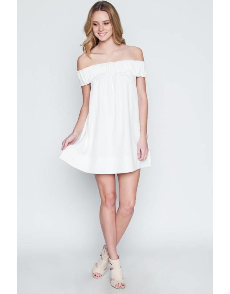 Castle Off Shoulder Dress