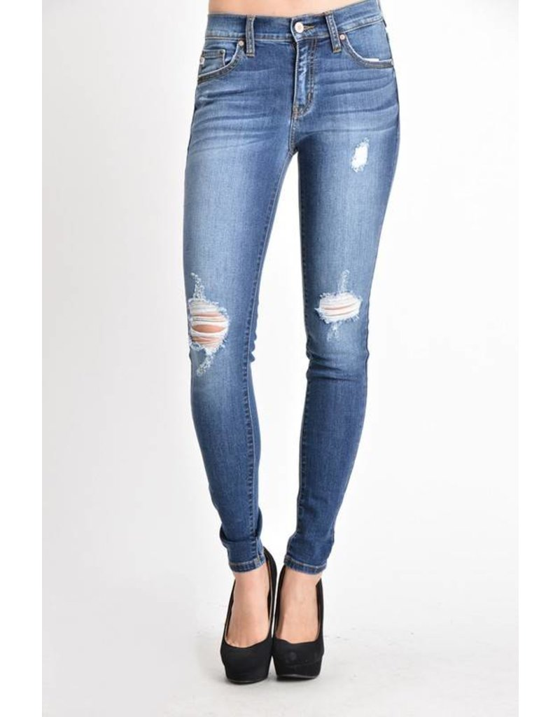 Kan Can Dark Distressed Jeans