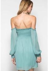 Smocking Hot Dress