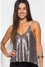 Paradise Sequin Top