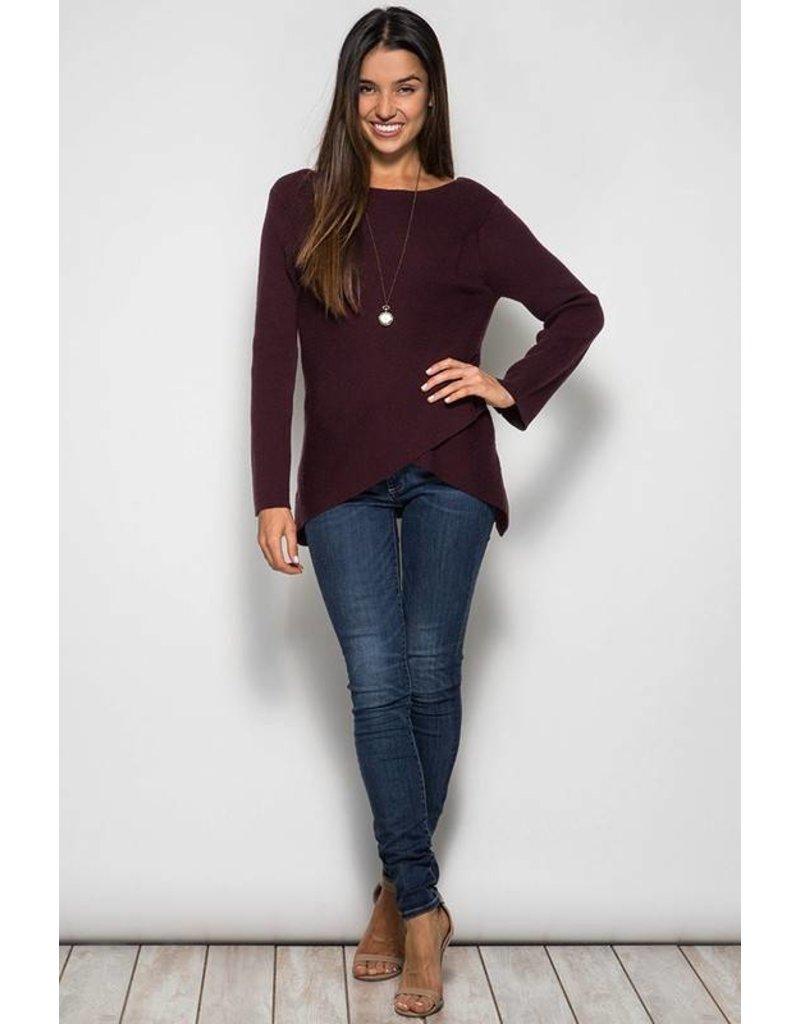 Overlap Sweater