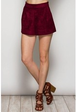 Suede With You Shorts Set Piece