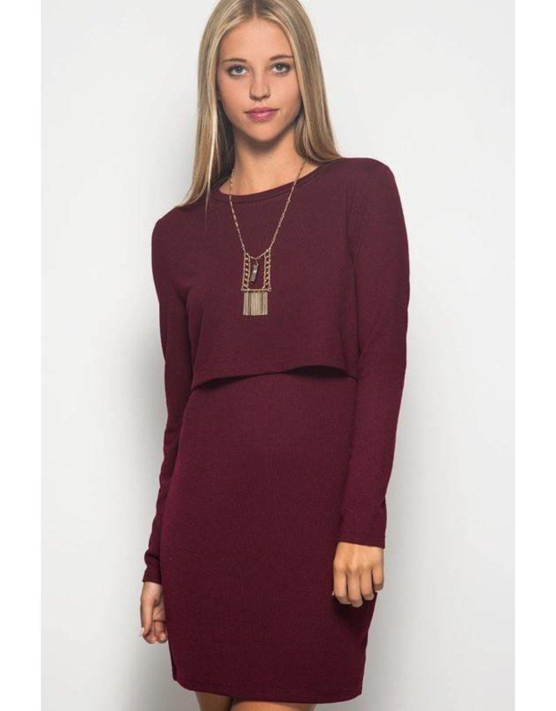 Wine Down Dress