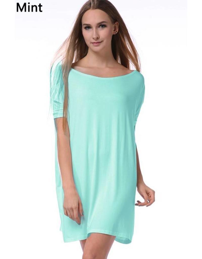 Short Sleeve Piko Dress