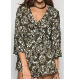 Dance to A Different Beat Romper