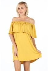 Tailgate Off Shoulder Dress