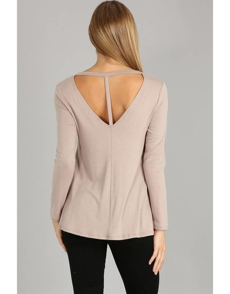 Tyra T-Back Top