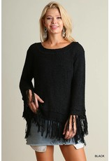 Are We Fringed Yet Sweater