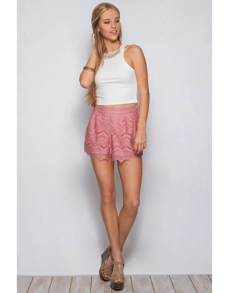 Layden Lace Shorts