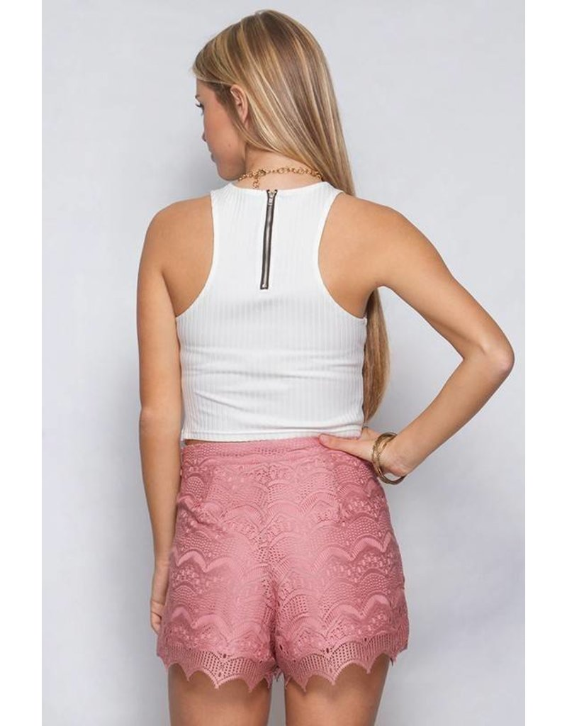 Layden Lace Shorts