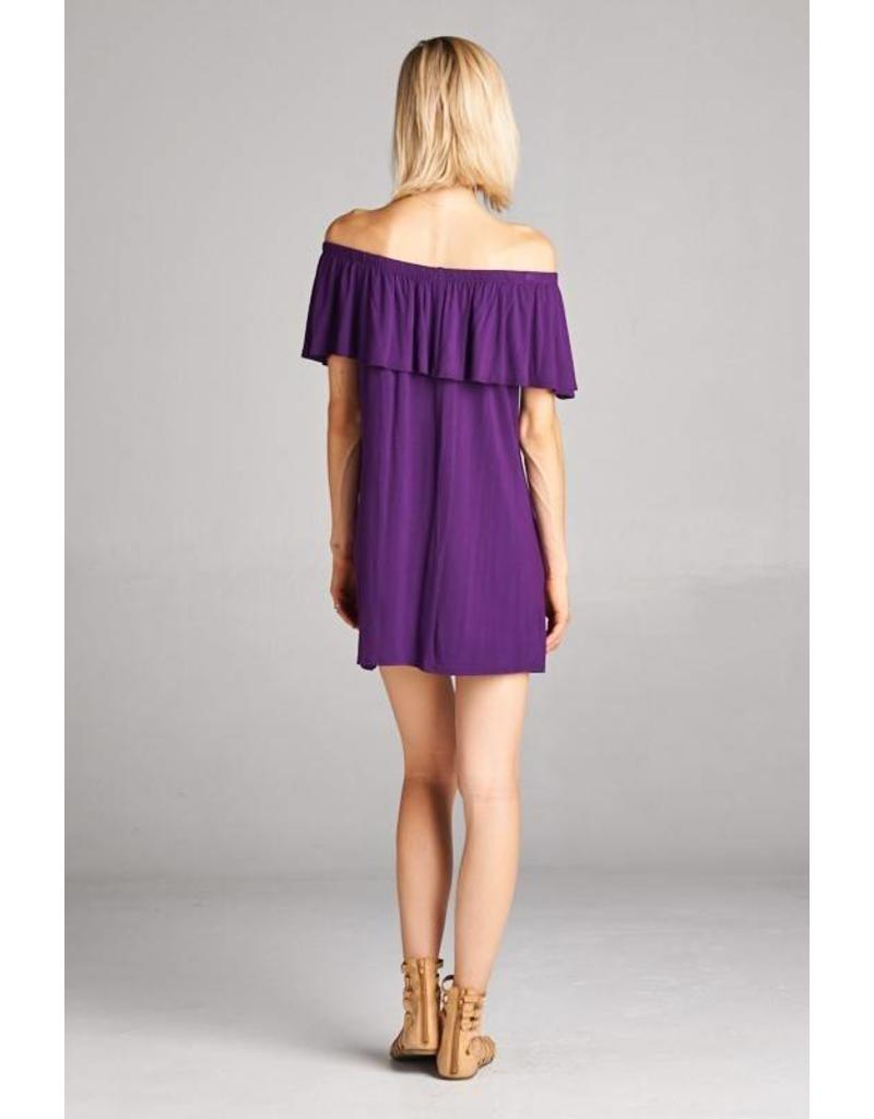 Off The Shoulder Pee Dee Dress